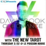 David Cook and The New Tarot to play LPR