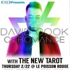 David Cook and The New Tarot to play LPR